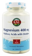 Kal - Magnesium ActiSorb 400 mg. - 60 Tablets (021245615064)