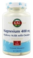 Kal - Magnesium ActiSorb 400 mg. - 60 Tablets by Kal