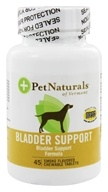 Pet Naturals of Vermont - Bladder Support for Dogs - 45 Tablets