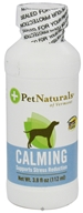 Pet Naturals of Vermont - Calming Support Formula for Dogs - 4 oz.