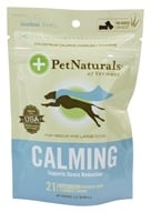 Pet Naturals of Vermont - Calming Support for Medium & Large Dogs Soft Chews Chicken Liver Flavored - 21 Chewables (026664886422)