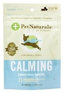 Pet Naturals of Vermont - Calming Support for Small Dogs Soft Chews Chicken Liver Flavored - 21 Chewables - $3.19