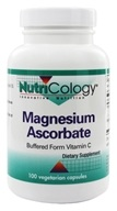 Nutricology - Magnesium Ascorbate - 100 Vegetarian Capsules, from category: Vitamins & Minerals