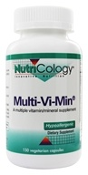 Nutricology - Multi-Vi-Min - 150 Vegetarian Capsules, from category: Vitamins & Minerals