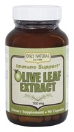 Only Natural - Olive Leaf Extract 700 mg. - 90 Capsules, from category: Herbs