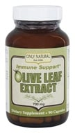 Only Natural - Olive Leaf Extract 700 mg. - 90 Capsules by Only Natural