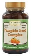 Only Natural - Pumpkin Seed Complex 700 mg. - 90 Capsules OVERSTOCKED by Only Natural