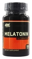 Optimum Nutrition - Melatonin 3 mg. - 100 Tablets - $2.39