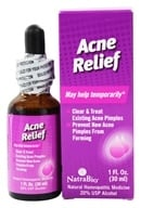 NatraBio - Acne Relief - 1 oz., from category: Homeopathy