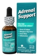 NatraBio - Adrenal Support - 1 oz. by NatraBio