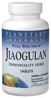 Planetary Herbals - Jiaogulan Full Spectrum - 30 Tablets Formerly Planetary Formulas (021078104681)
