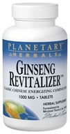 Planetary Herbals - Ginseng Revitalizer 1000 mg. - 90 Tablets Formerly Planetary Formulas