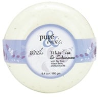 Pure & Basic - Natural Bar Soap White Tea & Echinacea - 6.4 oz., from category: Personal Care