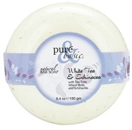 Pure & Basic - Natural Bar Soap White Tea & Echinacea - 6.4 oz. by Pure & Basic