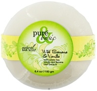 Pure & Basic - Natural Bar Soap Wild Banana & Vanilla - 6.4 oz.