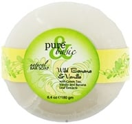 Pure & Basic - Natural Bar Soap Wild Banana & Vanilla - 6.4 oz., from category: Personal Care
