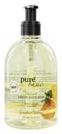 Pure & Basic - Natural Liquid Hand Soap Grapefruit Verbena - 12.5 oz., from category: Personal Care