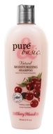 Image of Pure & Basic - Natural Shampoo Moisturizing Cherry Almond - 12 oz.