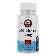 Image of Kal - Melatonin Sustained Release 3 mg. - 60 Tablets