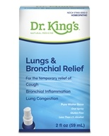 Image of King Bio - Homeopathic Natural Medicine Lungs & Bronchial Relief - 2 oz.