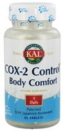 Kal - Cox-2 Control Body Comfort - 60 Tablets, from category: Nutritional Supplements