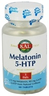 Kal - Melatonin 5-HTP - 60 Tablets