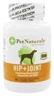 Pet Naturals of Vermont - Hip & Joint For Dogs - 60 Chewable Tablets