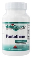 Nutricology - Pantethine - 60 채식주의 캡슐