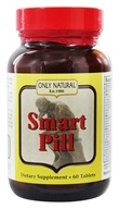Image of Only Natural - Smart Pill Ultimate Brain Formula with Ginkgo 125 mg. - 60 Tablets