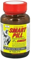 Only Natural - Smart Pill Ultimate Brain Formula with Ginkgo 125 mg. - 30 Tablets by Only Natural