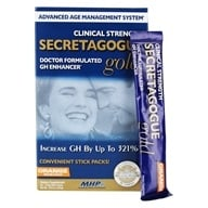 Image of MHP - Secretagogue Gold Advanced Age Management System Orange - 30 Packet(s)