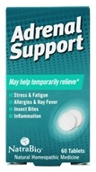 NatraBio - Adrenal Support - 60 Tablets - $5.39
