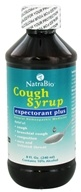 NatraBio - Adult Cough Syrup - 8 oz. by NatraBio