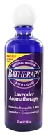 Image of Queen Helene - Batherapy Liquid Natural Mineral Bath Aromatherapy Lavender - 16 oz.