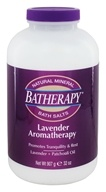 Queen Helene - Batherapy Mineral Bath Salts Lavender - 2 lbs. by Queen Helene