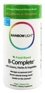 Rainbow Light - Food-Based B-Complete - 90 Tablets (021888109029)