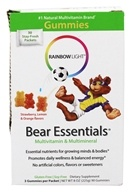 Rainbow Light - Gummy Bear Essentials Multivitamin & Multimineral - 30 Packet(s) by Rainbow Light