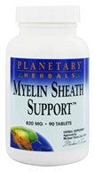 Planetary Herbals - Myelin Sheath Support 820 mg. - 90 Tablets Formerly Planetary Formulas