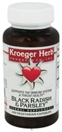 Kroeger Herbs - Herbal Combination Black Radish & Parsley - 100 Capsules