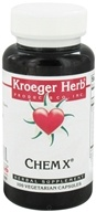 Kroeger Herbs - Chem X - 100 Vegetarian Capsules CLEARANCED PRICED