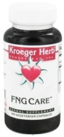 Image of Kroeger Herbs - Herbal Combination FNG Care - 100 Vegetarian Capsules Formerly Foon Goos
