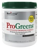 Nutricology - ProGreens Powder - 9.27 oz. by Nutricology