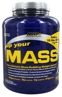 MHP - Up Your Mass Fudge Brownie - 5 lbs., from category: Sports Nutrition
