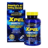 MHP - Xpel Maximum Strength Diuretic - 80 Capsules by MHP