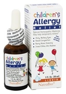 Image of NatraBio - Children's Allergy - 1 oz.