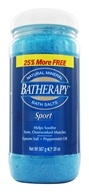 Queen Helene - Batherapy Mineral Bath Salts Sport - 16 oz. (079896221639)