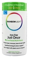 Image of Rainbow Light - Just Once Multivitamin Iron-Free - 120 Tablets