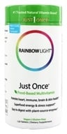 Rainbow Light - Just Once Multivitamin VegeGuard - 120 Tablets - $30.95
