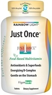 Rainbow Light - Just Once Multivitamin - 60 Tablets by Rainbow Light