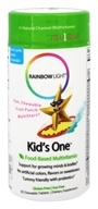 Rainbow Light - Kids' One MultiStars Multivitamin Fruit Punch - 30 Chewable Tablets (021888109814)